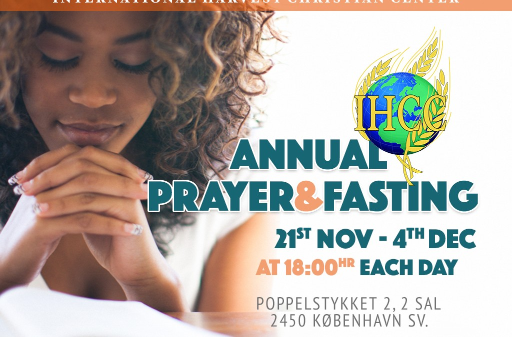 Annual Prayer & Fasting 2016