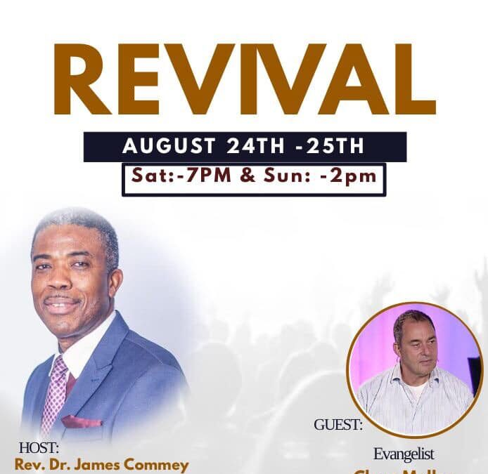 Revival – August 24th – 25th